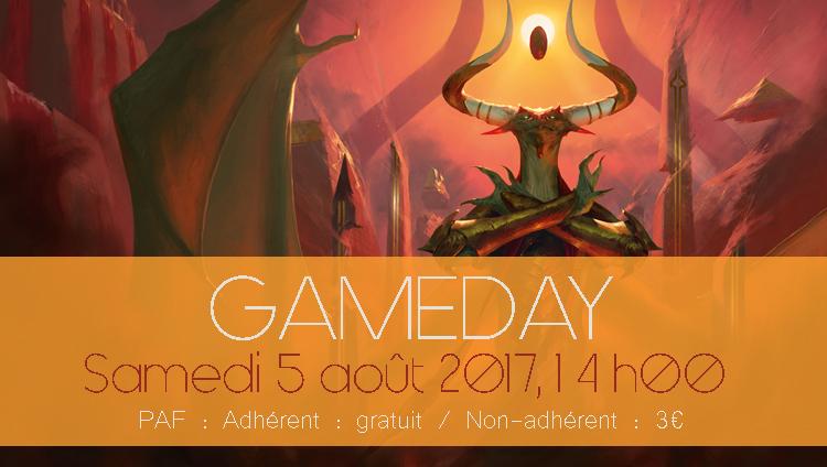 Gameday bannière aout2017
